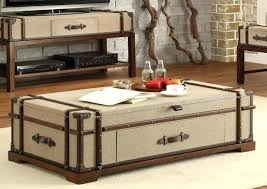 Trunk Style Coffee Table Trunk Style Coffee Table Wooden Trunk Coffee Table Australia