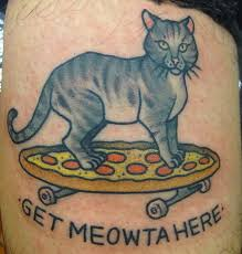 we chat with kapten hanna who specializes in cat tattoos to