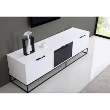 animator tv stand high gloss white b modern modern manhattan