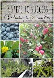 Texas Vegetable Garden Calendar by 8 Steps To Garden Success In Zone 8b Preparednessmama