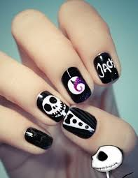 halloween nail art designs ideas nail paint stickers happy