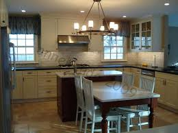 designing a kitchen island with seating kitchen island with attached table ideas danagilliann me