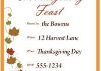 thanksgiving day menu template best and professional templates