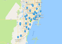 Map Of Miami Dade County by Map Miami Dade County Early Voting Locations U2013 The Miami Hurricane