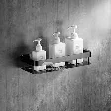 Black Bathroom Shelves Black Bathroom Accessories