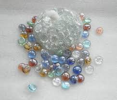 Decorative Glass Stones For Vase Flat Glass Decorative Marble From China Buy Glass Marble Clear