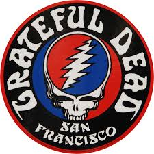 grateful dead syf u0026 logo sticker rockabilia