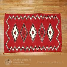 Tom Russell Navajo Rug Navajo Textile Rug C3894 Adobe Gallery Santa Fe