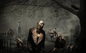 scary halloween screensavers halloween graveyard wallpaper wallpapersafari