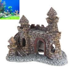 fish and aquarium castle decorations ebay