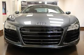 Audi R8 Grey - used 2015 audi r8 stock p3062a ultra luxury car from merlin auto