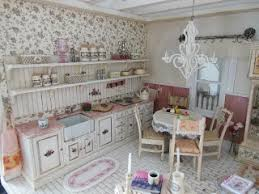 Shabby Chic Dollhouse by 1 12 Dollhouse Miniature Pink Shabby Chic Cottage Interior