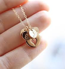 Mothers Necklace With Initials 416 Best Collares Images On Pinterest Necklaces Jewelry And