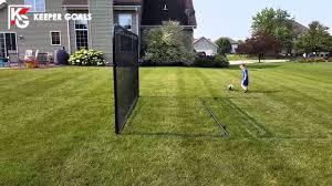 backyard soccer rebounder youtube