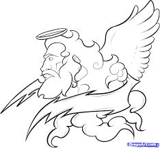 coloring page surprising greek gods drawings 20 zeus coloring
