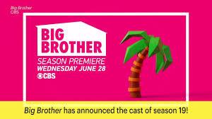 big brother announces season 19 cast ew com