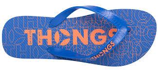 flip flop thongs print blue orange rubber flip flop thongsflipflops