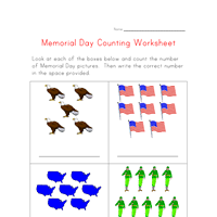 memorial day worksheets for kids all kids network