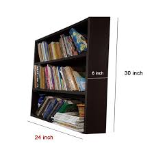 Particle Board Bookcase Buy Mood Of Wood Economy Particle Board Book Shelf Online Best