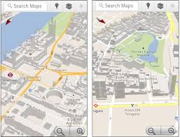 android maps maps for android has more 3d buildings ubergizmo