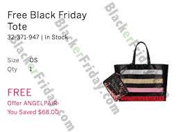 s secret black friday 2017 sale free tote bag