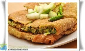 membuat martabak di rice cooker resep martabak telur sederhana indonesian snacks pinterest