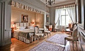 chambre style gustavien decoration style gustavien déco chambre adulte peinture grise