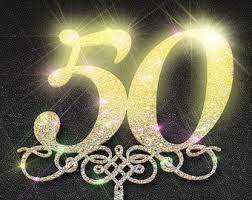 50th anniversary decorations 50th birthday confetti 50th anniversary confetti 50 gold 50