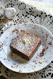 chocolate souffle custard cake a k a chocolate magic cake