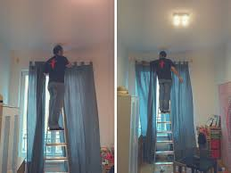 100 curtains from ceiling high shower curtains