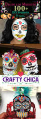 Halloween Makeup Day Of The Dead by 100 Dia De Los Muertos Projects Crafty Chica