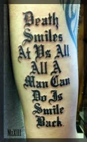 tattoo quoyes tattoo quotes about death quotes