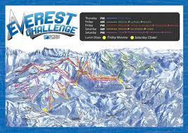 Map Of Everest Everest Challenge Route Map Map Mount Everest Photo Shared By