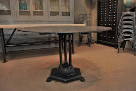Industrial Bistro Table Home Design Mesmerizing 1930s Dining Table Traditional Indoor