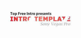 sony vegas intro template optical flare topfreeintro com