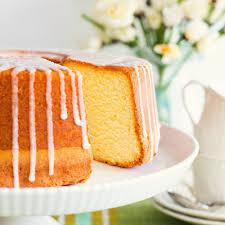 a southern classic lemon sour pound cake