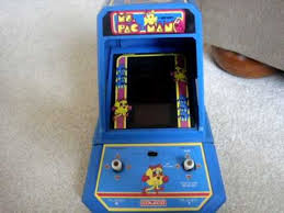 Pacman Game Table by Coleco Ms Pacman Table Top Arcade Youtube