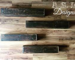 Reclaimed Wood Floating Shelves by Floating Shelf Wall Shelf Shelving Reclaimed Shelves