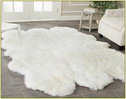 Sheepskin Rug Cleaning How To Clean A Large Sheepskin Rug Rug Designs