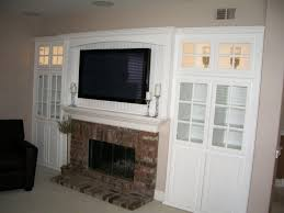 white wall unit with tv over fireplace cabinet wholesalers