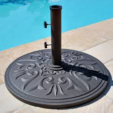 Patio Umbrella And Base Outdoor Swimming Pool Umbrella Stand Free Standing Patio