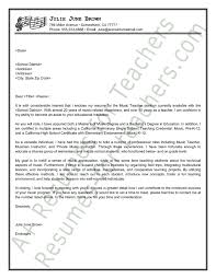 sample teacher cover letter template special education teacher