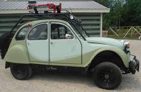 jeep commando hurst 1968 citroen 2cv suzuki samurai 4x4 conversion vintage mudder