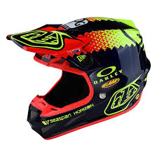 motocross helmet troy lee designs protective lightweight se4 composite motocross