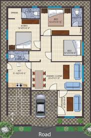 apartments 3 bhk house layout more bedroom d floor plans bhk