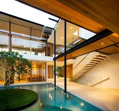 exotic modern mansion in singapore the fish house by guz