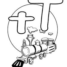 learning letter t coloring page bulk color