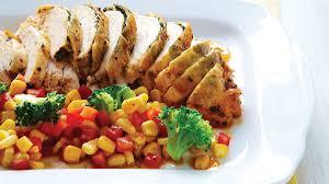 roasted whole chicken roasted whole chicken au jus with broccoli corn recipe clean