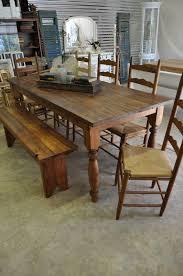 pine bench for kitchen table custom built 1800s reclaimed heart pine farmhouse harvest table