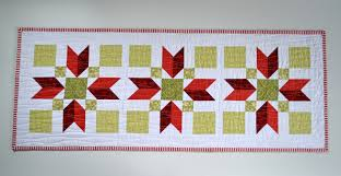 sew fresh quilts poinsettia quilted table runner